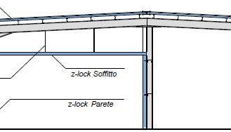 Sistema isolato internamente con struttura portante dedicata. - disegni tecnici - pannelli termici srl