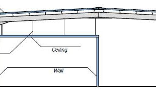 Sistema isolato internamente con struttura autoportante - disegni tecnici - pannelli termici srl