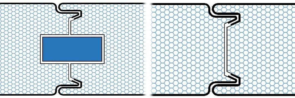 disegni tecnici - pannelli termici srl - giunti